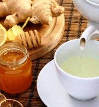 Çaj nga xhenxhefili, limon dhe mjaltë kundër ftohjes !