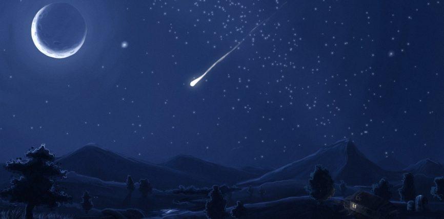 A është e vërtetë se Allahu me yje (meteor) i gjuan shejtanët ?