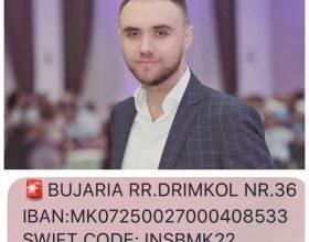 Shoku, kolegu dhe vellau jone i nderuar Ylber Aliu nga Shkupi ka nevojë për ndihmën tonë