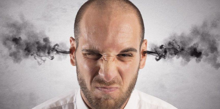 Zemërimi (tërbimi) i destabilizon mendimet