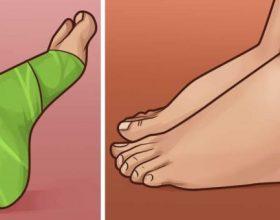 8 zgjidhje të PERSOSURA për këmbë të enjtura